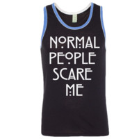 Normal People Scare Me Tank Top