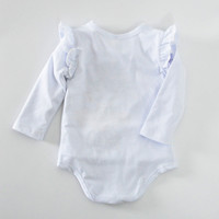 Newborn baby girl romper cartoon mouse baby girl romper autumn 2017 kids baby girl clothes letter infant baby jumpsuit for girls