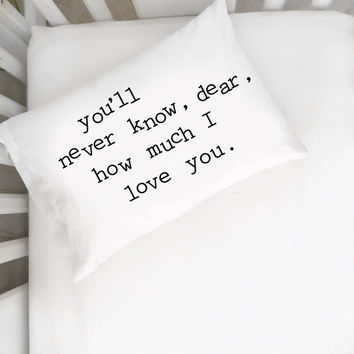 """You Are My Sunshine 14"""" x 20"""" Toddler Pillowcase"""