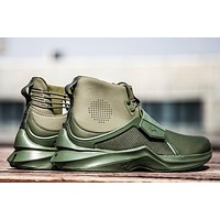 PUMA Fenty Hi Leather Wn's rihanna Sneaker Color Green 190398-02