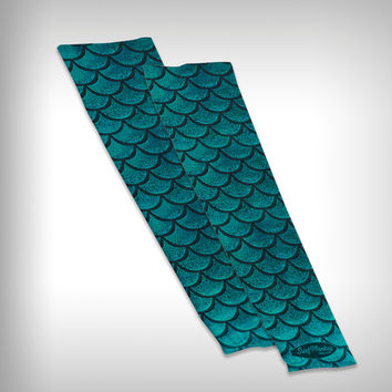 Compression Sleeve Mermaid Arm Sleeves - Mermaid