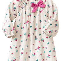 Gap Baby Factory Floral Bow Dress
