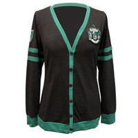 Harry Potter Slytherin Junior's Cardigan