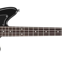 Squier® Vintage Modified Jaguar® Bass Special SS, Rosewood Fingerboard, Black | Squier Bass Guitars