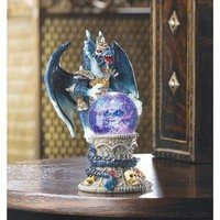 Color Changing Dragon Figurine