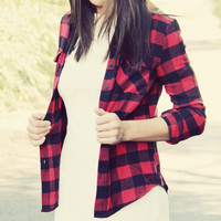 Buffalo Sky Plaid Shirt