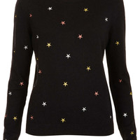Knitted Embroidered Star Top - New In This Week  - New In