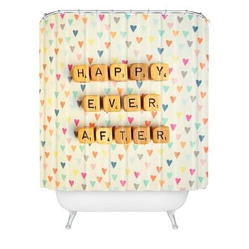Happee Monkee Happy Ever After Shower Curtain