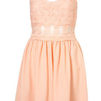 [out of stock] Lace Strappy Dress - Dresses  - Clothing  - Topshop