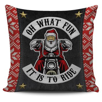 Oh What Fun Pillow Cover