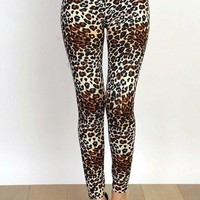 Lovable Leopard Printed Leggings