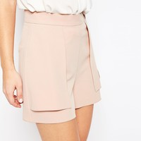 ASOS A-Line Short with Overlay
