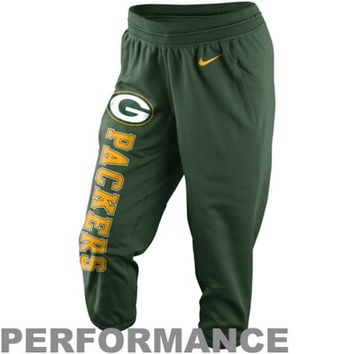 Green Bay Packers Toddler Allover Logo Flannel Pajama Pants - Green