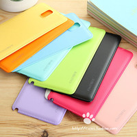 Fashion Candy color BUBBLEPACK Hard back Replacement Battery Cover for Samsung Galaxy Note 3 Housing case