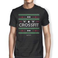 """Pixel Pattern Crossfit"" Men's Tees & Tanks"