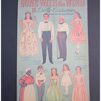 Gone With the Wind  Dolls and Costumes Paper Dolls Book