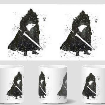 game of thrones house stark mugs Tea Cup cold hot heat reveal coffee mug cold hot sensitive  heat changing color travel