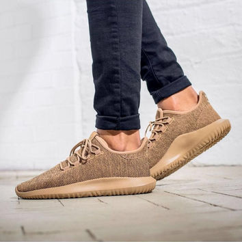 Adidas Originals Tubular Shadow Knit 'in Three Colorways Running Sports Shoes brown