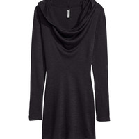 H&M - Knit Dress - Black - Ladies