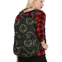 Nirvana Smiley Backpack