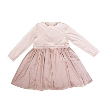 MUMMYMOON Girls' Pink Julia Dress