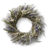 Blue Larkspur Wreath