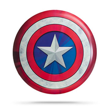 Captain America Metal Wall-Mounted Shield