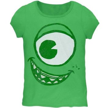 DCCKU3R Monsters, Inc. - Mike Face Girls Juvy Costume T-Shirt