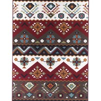 Area Rugs 5 x 8 Southwestern Rug Foyer, Dining Room, Living Room Multi Color Stain Resistant