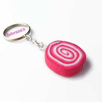 Lush inspired Comforter keychain (handmade Lush bath bomb Lush Cosmetics clay Fimo Lush dupe soap Lush jewelry collection bubble bar)
