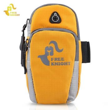 Fitness Running bag Free Knight 5 inches   Women Nylon Jogging Gym  Sport  Wrist Arm  For Phone Case Armband Outdoor Hand