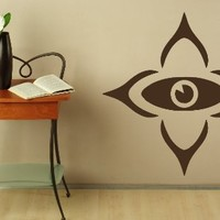 Wall Decals Abstract Eye Vision Sign Decal Vinyl Sticker Home Decor Bedroom Interior Window Decals Living Room Art Murals Chu1374
