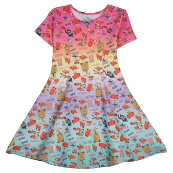 Girls' Zootopia® Skater Dress - Multicolored