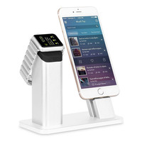 Apple iWatch Stand Solid Aluminum 2 in 1 Charger Charging Dock