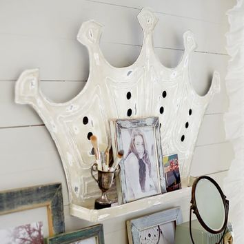 Rule The World Crown Shelf