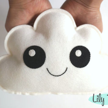 Cloud Softie, Cloud pillow, Baby Decor, Nursery Decor, Baby Shower Gift, Gift Baby, Cloud Nursery, Mintgreen Nursery, Unisex Nursery