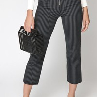 Kendall and Kylie Zip Front Pants at PacSun.com - black/white | PacSun