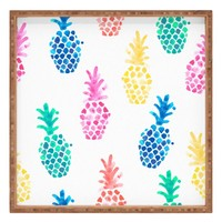 DENY Designs Dash & Ash - Pineapple Paradise Decorative Tray | Nordstrom
