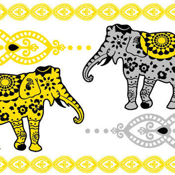 Bali Candy Temporary Jewelry Tattoos III (includes 4 sheets with 4 styles)