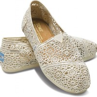 Brides & Bridesmaids - Natural Crochet Women's Classics | TOMS.com