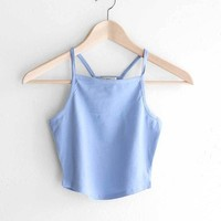 Cropped Cami Tank Top