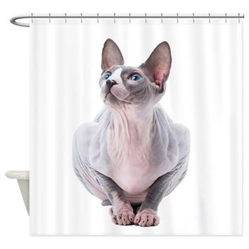 SPHYNX MANIA SHOWER CURTAIN