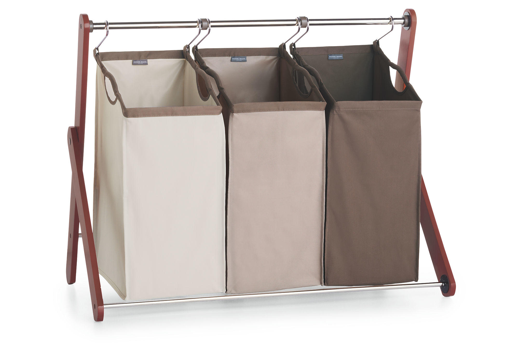 Triple Laundry Sorter Laundry Hampers From One Kings Lane