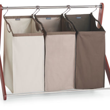 Triple Laundry Sorter, Laundry Hampers