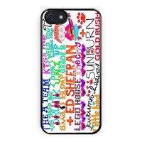 Ed Sheeran Song Design iPhone 5/5S Case
