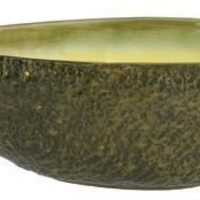 Ceramic Avocado Serving Guacamole Bowl Extra Large 13L