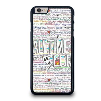 ALL TIME LOW WRITTING iPhone 6 / 6S Plus Case Cover