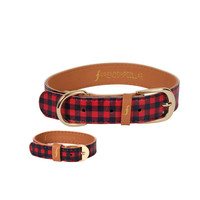 The Hipster Pup- Dog collar and matching friendship bracelet