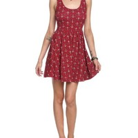 Anchor Red Dress