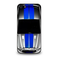 FORD SHELBY MUSTANG SILVER iPhone 5 / 5S / SE Case Cover